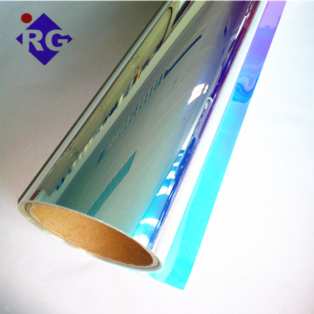 1520mm Self Adhesive Dichroic Window Film for Glass Window and Acrylic Panels