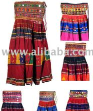 Wholesale Indian Cotton Authentic Banjara Belly Dance Skirt