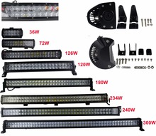 "44""240W jeep parts off road accessories auto led bar lamp"