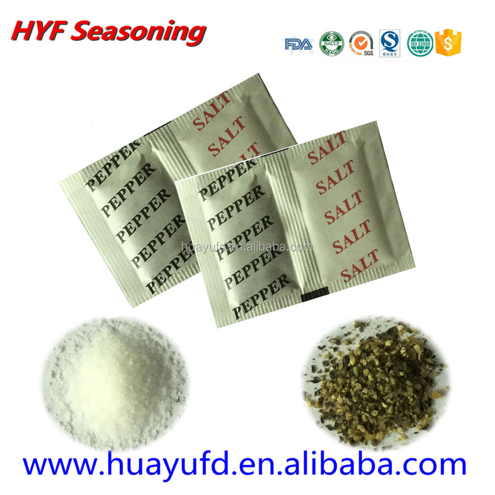 wholesale pepper salt sachet for beef
