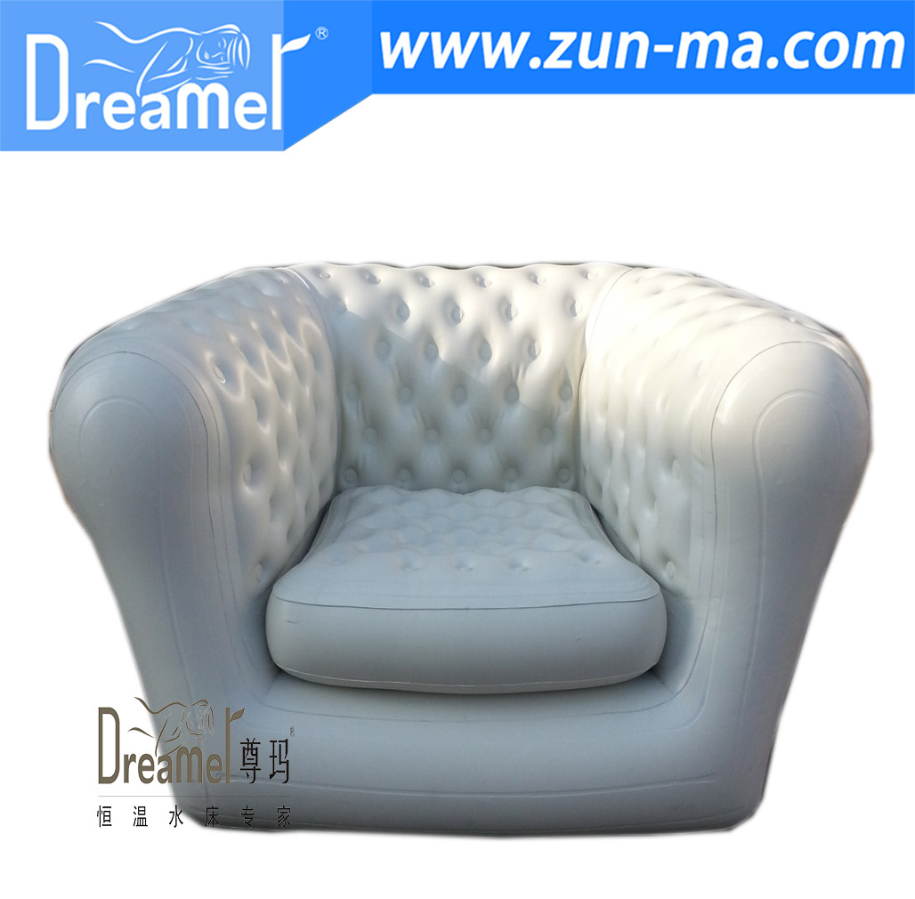Cheap square inflatable PVC waiting chair