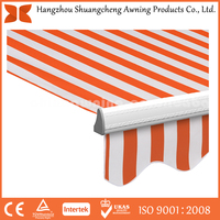 handle waterproof canvas fabric shop awning front door canopy door and windlw awning