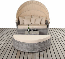 Rattan Outdoor Garden Sun lounge Bed Furniture