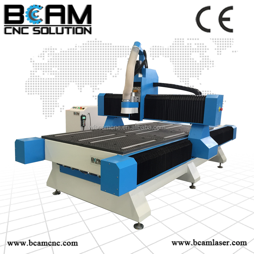 Hot sales! cnc router BCM1325 China woodworking machine with dust cover