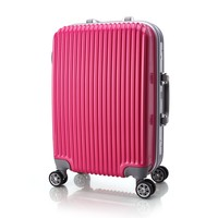 New design big capacity travel case luggage with silent wheels