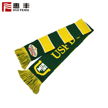 2019 New Design Knitted Fan Scarf