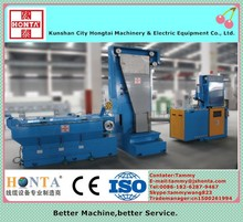 Intermediate copper wire drawing machine with annealer-power cable manufacturing machine