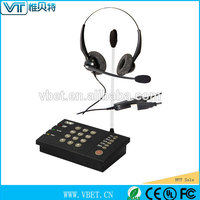 usb skype headset phone With UL FCC certification