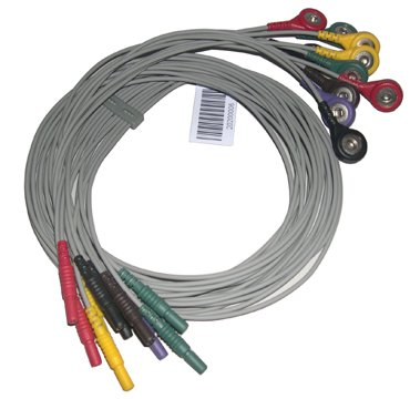 DMS HOLTER ECG CABLE 7 LEAD WIRE CABLE