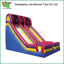 new designed rainbow commercial grade inflatable big water slides prices for sale
