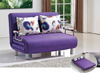 High quality fold up convertible sofa lounge bed Italian style two seater sofa cum bed design