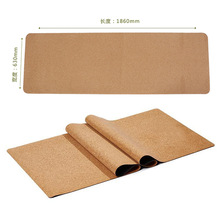 100% eco natural rubber cork yoga mat Custom Laser Engraved or Transfer Printed cork yoga mat