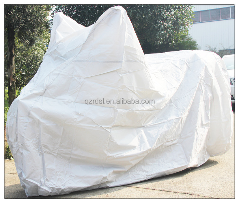 waterproof UV protection silvery color motorcycle cover