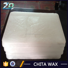 White Slab 56-58 Fully Refined Paraffin Wax for Sale