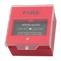 N23 Chinese factory producting manual call point FA-501 resetable fire alarm button