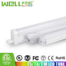 T8 Model Number and IP44 IP Rating led tube integrated t8 ETL listed