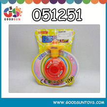 Promotional wind up spinning top toy