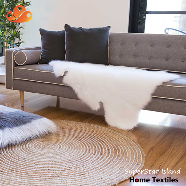Soft And Comfortable Fake Fur Carpet Faux Animal Skin Rugs