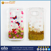 TPU Case with Sand for Samsung S6 edge G925F
