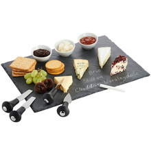 Food Grade Slate Black Hotel Restaurant Crockery Tableware