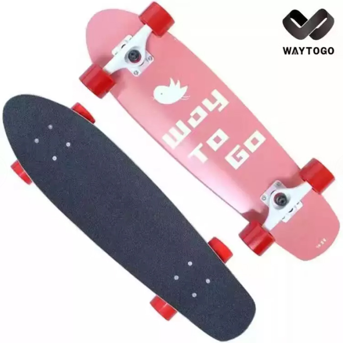 cheap complete fish skateboard graphic concave maple deck for children