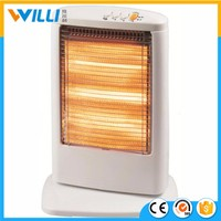 Hot sale product 220V electric infrared heater/room fan heater with halogen tubes/electric room heaters