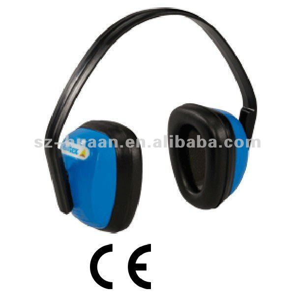 Blue cute and clip ear muffs