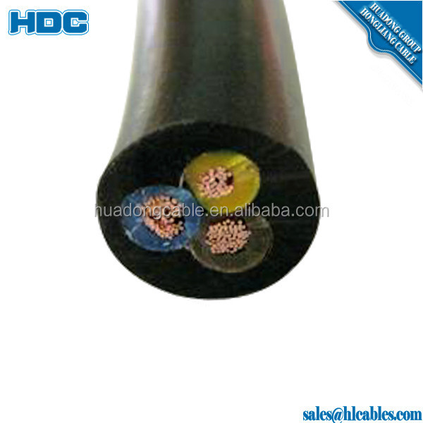 1KV Multi-Core EPR insulated CPE/CR sheath PNCT-F rubber cable