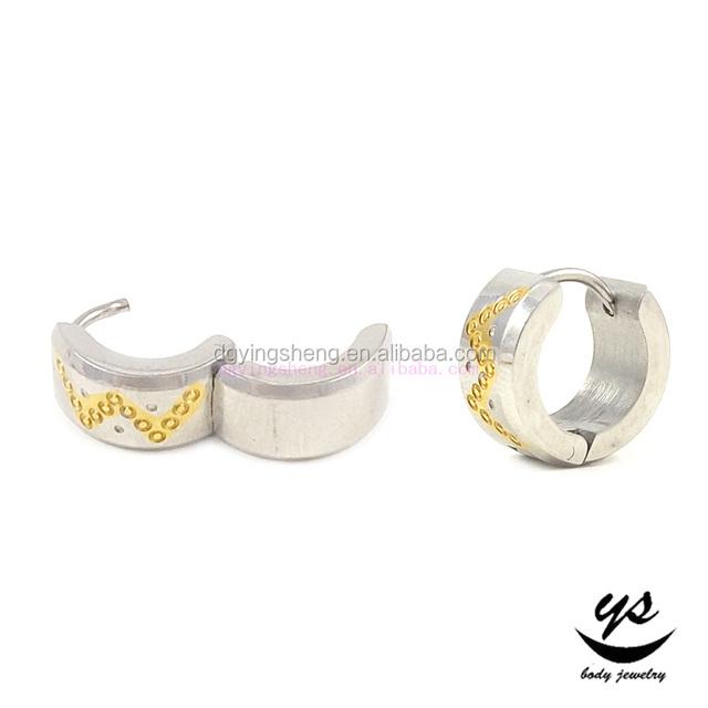 202016 Customized Jewelry Gold Plated Beautiful Cuff Earrings For Girls Ear Cuff