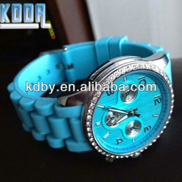 Koda Silicone Rubber Hot Star Singapore Movement Stylish Pictures Of Fashion Girls Watches 2016