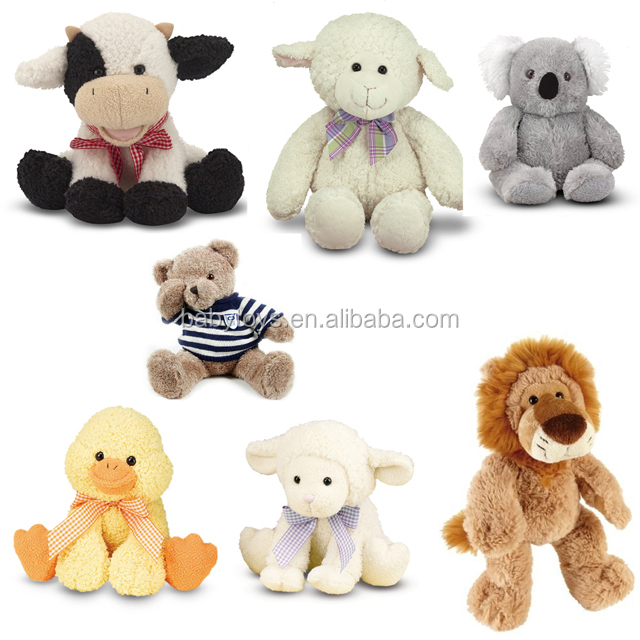 "16"" Lovey plush Lamb toy, Huggable super soft Lamb secured and safe for all ages,Sedex supplier"