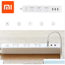 100% Original Xiaomi Powerstrip Outlet Socket 3 USB Standard Extension Socket Plug for Xiao mi patch board power strip