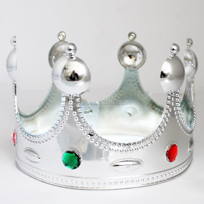 wholesale promotional plastic cheap prom crowns tiaras for student