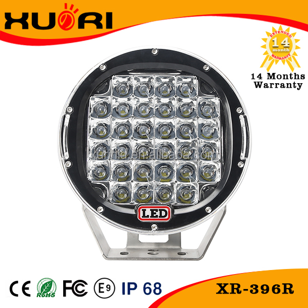 Super Bright Car Accessories 96w Led Work Light Led Headlight Turning Light