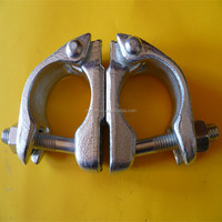 BS1139 scaffolding parts galvanized fixed scaffold limpet clamp