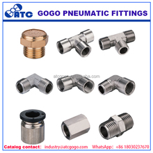 high quality raw materials pneumatic pipe fitting tools name take off chart
