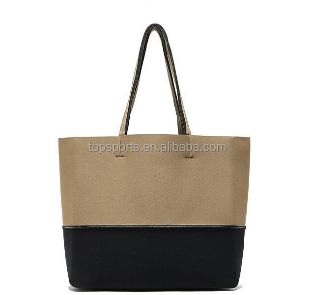 Promotional insulated lunch neoprene beach cooler Tote Bag