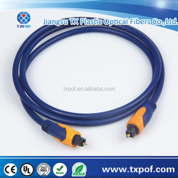 high quality digital audio toslink cable fiber optical cable