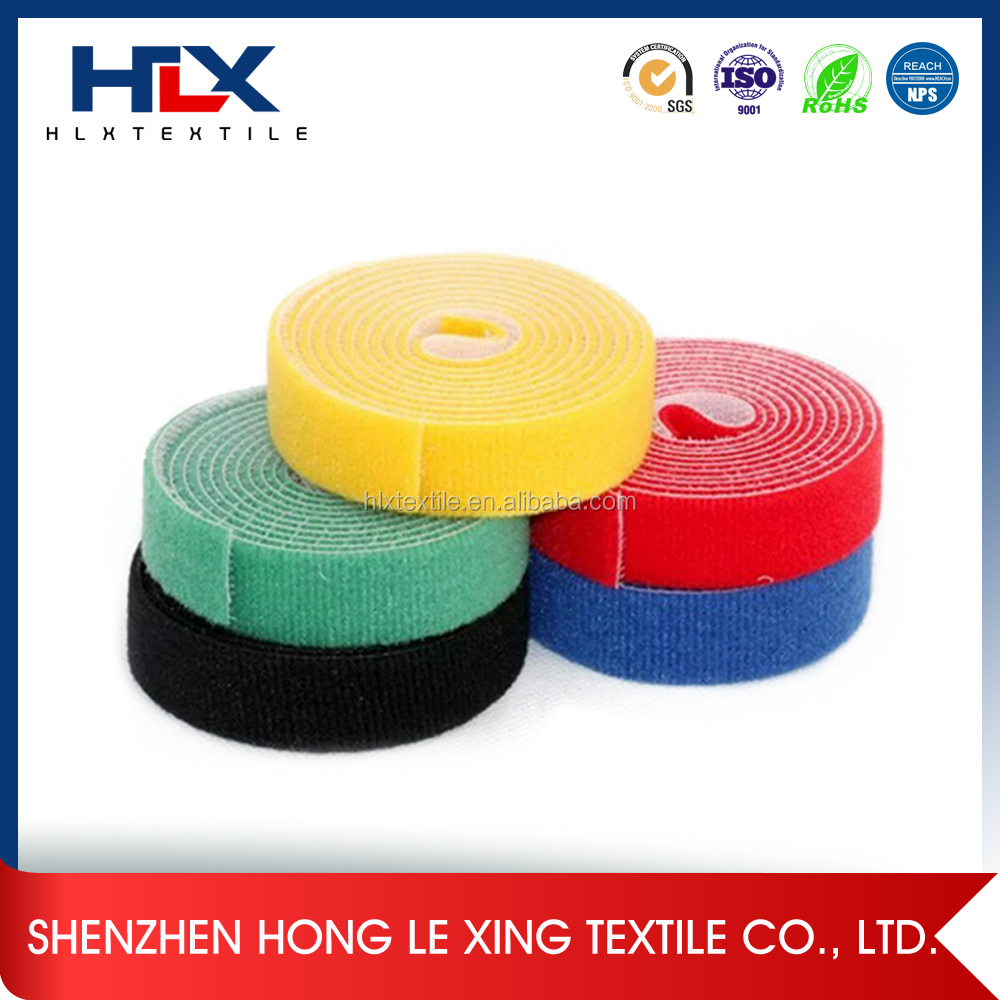 Double Sided Sticky Velcro for Fabric Tape in Stock