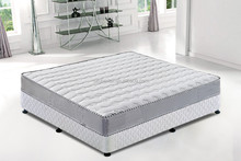 Soft Fabric Cover Compressed Bonnel Spring Mattress with Bed Box