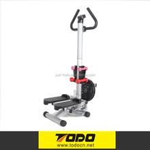 Hydraulic Exercise Stepper with Handlebar with Dumbbell