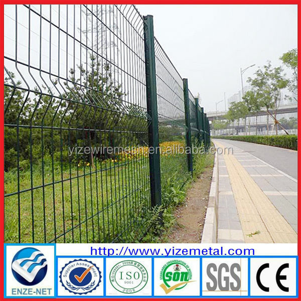 alibaba express wire mesh fencing trellis designs /Powder coating wire fencing