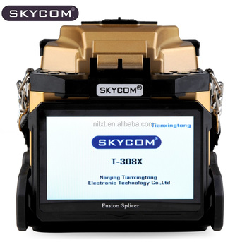 SKYCOM T-308X optical fiber fusion splicer