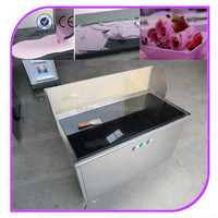 Glory GL-F500A Cold Stone Marble Slab Top Fry Ice Cream Machine/Fried Ice Cream Machine/Fried Ice Pan Machine