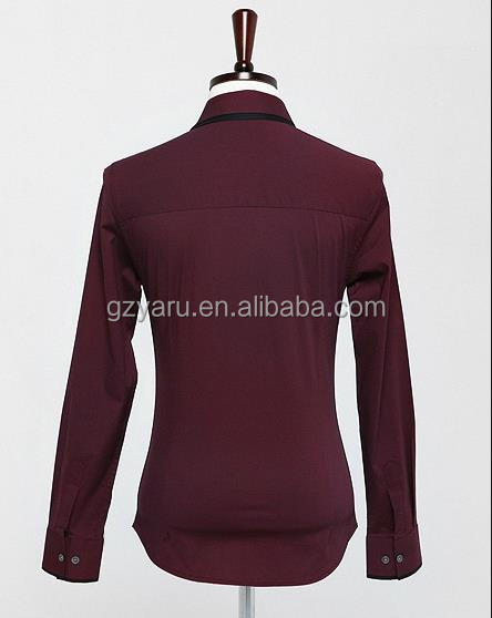 Hot-selling elegant fashion famous brand shirt for men