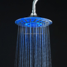 ABS PLASTIC LED SHOWER HEAD,LED TOP SHOWER