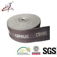 Cotton Fabric Jacquard Logo Webbing Tape