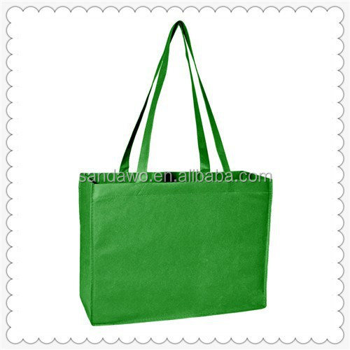 Promotional customized pp laminated non woven shopping bags
