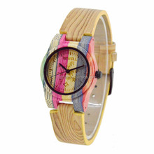 2017 fashion wood watch for kids with odm production of factory