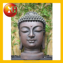 Outdoor stone buddha bobble head statues for wholesale cheap
